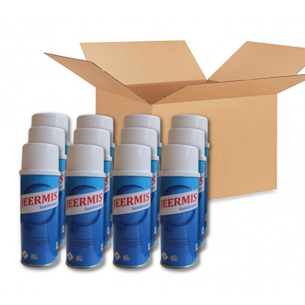 Caja Aerosoles Sanitizantes  - JEERMIS - Antibacterial Coronavirus Desinfectante